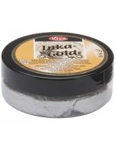 Краска-паста металлик Inka-Gold 902 серебро, 50г, Viva Decor (Германия)