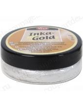 Краска-паста металлик Inka-Gold 904 платина, 50г, Viva Decor (Германия)