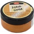 Краска-паста металлик Inka-Gold 907 оранжевый, 50 г, Viva Decor (Германия)