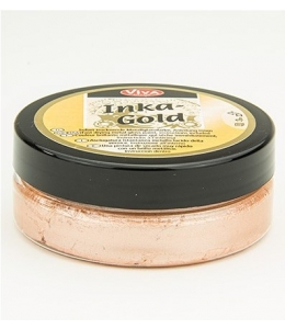 Краска-паста металлик Inka-Gold 931 абрикос, 50г, Viva Decor (Германия)