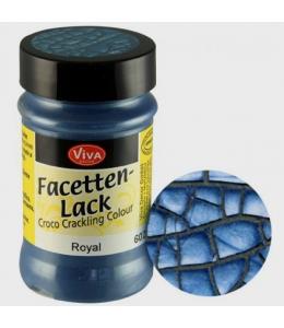 Фацетный лак Viva Facetten Lack 602, цвет синий металлик, 90 мл