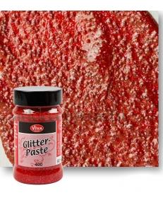 Паста объемная с блестками Viva-Glitter Paste, цвет 400 рубин, 90 мл