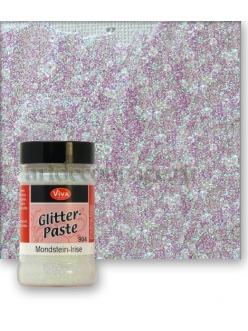Паста объемная с блестками Viva Glitter Paste, цвет 904 лунный камень, 90 мл