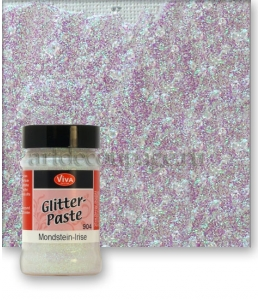 Паста объемная с блестками Viva-Glitter Paste, цвет 904 лунный камень, 90 мл