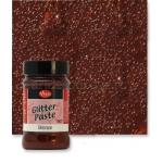 Паста объемная с блестками Viva-Glitter Paste, цвет 907 бронза, 90 мл