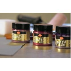 Краска с эффектом металла Viva Maya-Gold
