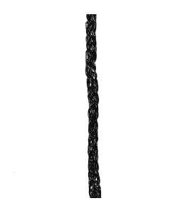 Шнур декоративный Vivant-Noon Cord, цвет 85 черный, 5 мм х 1 м