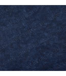 Рисовая бумага для декупажа однотонная, цвет 44 темно-синий, 50х70 см, Calambour (Италия)