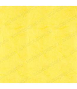 Рисовая бумага для декупажа однотонная, цвет 55 желтый лимонный, 50х70 см, Calambour (Италия)