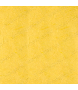 Рисовая бумага для декупажа однотонная, цвет 56 насыщенный желтый, 50х70 см, Calambour (Италия)