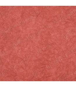 Рисовая бумага для декупажа однотонная, цвет 59 кирпичный, 50х70 см, Calambour (Италия)