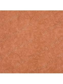 Рисовая бумага для декупажа однотонная, цвет 78 оранжевый, 50х70 см, Calambour