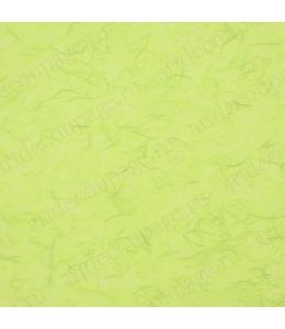 Рисовая бумага для декупажа однотонная, цвет 62 желто-зеленый, 50х70 см, Calambour (Италия)