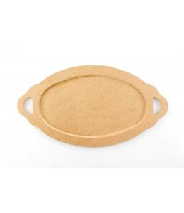 Заготовка блюдо Овальное 25х46,5 см, МДФ