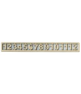 Цифры для часов деревянные арабские 20 мм