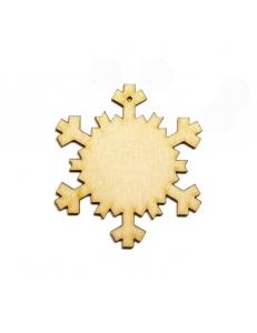 Заготовка фигурка Снежинка 6, фанера Woodbox 5 см