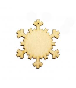 Заготовка фигурка Снежинка КСФ-С-1-05, фанера, 5 см