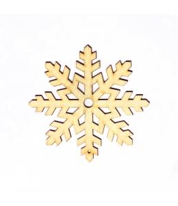 Заготовка фигурка Снежинка КСФ-С-10-05, фанера, 5 см