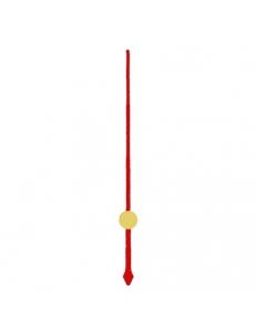Стрелка секундная для часового механизма YT6011red, красный металл, 60 мм, Young Town (Гонконг)