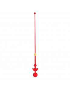 Стрелка секундная для часового механизма YT6030red, красный металл, 128 мм, Young Town (Гонконг)