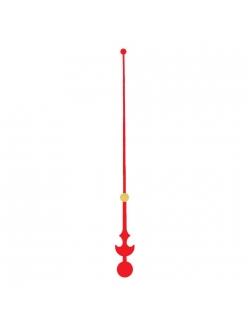 Стрелка секундная металлическая красная 128 мм, Young Town