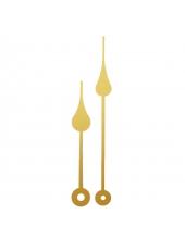 Стрелки для часов металлические золотистые YT754gold, 90/65 мм, Young Town (Гонконг)