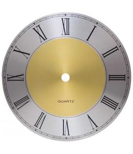 Циферблат для часов металлический с римскими цифрами 165 мм, Young Town