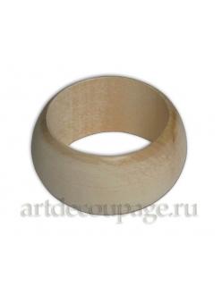 Заготовка кольцо для салфеток деревянное, ширина 45х23 мм,  WOODBOX