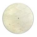 Заготовка для часов круглая 25 см, фанера 8мм, Woodbox