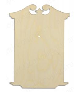 """Заготовка для часов фигурная """"Классика 1"""", 43х30,5 см, Woodbox"""