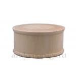 Заготовка шкатулка круглая деревянная, 13,5х6,5 см, WOODBOX