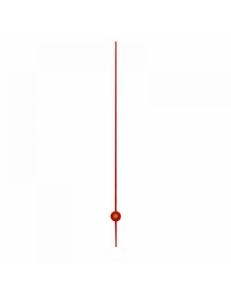 Стрелка секундная для часового механизма 80 мм, красный металл, Hermle Германия