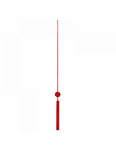 Стрелка секундная для часового механизма 125 мм, красный металл, Hermle Германия