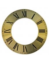 Циферблат для часов с вырезанным внутреним кругом 212х125 мм, римские цифры, Young Town