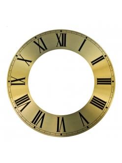 Циферблат для часов металлический 188х109мм, римские цифры, Young Town