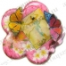 Заготовка шкатулка в форме цветка, прозрачный пластик, Stamperia, 15х15х3,5 см