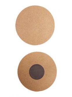 Заготовка магнит на холодильник круглый из МДФ 2 шт,  Stamperia