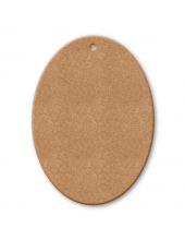 Заготовка Овальная табличка, 4,3x6 см, МДФ, Stamperia
