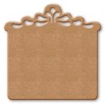 Заготовка панно квадратное резное из МДФ, 30х30 см, Stamperia (Италия)