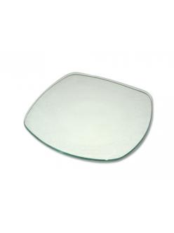 Заготовка стеклянная тарелка с закруглёнными углами, 15х15 см, Stamperia