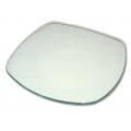 Заготовка стеклянная тарелка с закруглёнными углами, 25,5х25,5 см, Stamperia