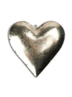 Заготовка для декупажа - сердце объемное, металл, 9х9 см, Stamperia (Италия)