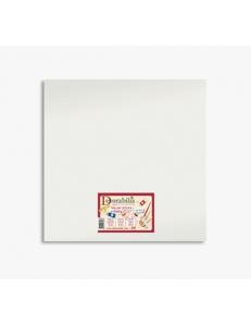 Холст на подрамнике грунтованный прямоугольный, 100% хлопок, 15х15 см, Stamperia KTL27