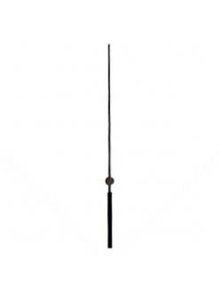 Стрелка секундная для часового механизма YT6001black, черный металл, 125 мм, Young Town