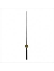 Стрелка секундная для часового механизма YT614black, черный металл, 73 мм, Young Town (Гонконг)