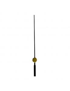 Стрелка секундная для часового механизма YT623black, черный металл, 65 мм, Young Town (Гонконг)