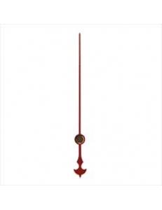 Стрелка секундная для часового механизма YT633red, красный металл, 51 мм, Young Town (Гонконг)