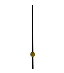 Стрелка секундная для часового механизма YT644black, черный металл, 68 мм, Young Town (Гонконг)