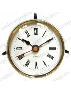 Встраиваемый кварцевый часовой механизм (капсула) Young Town YT65N, римские цифры, диаметр 65 мм
