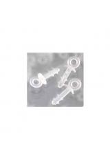 Пластиковые крючки для пенопластовых заготовок, 1 шт, Stamperia